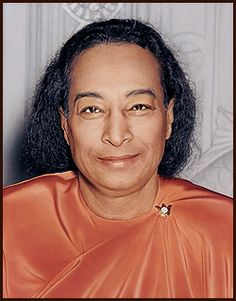 "Paramahansa Yogananda  ""Last Smile,"" taken about one hour before his passing"