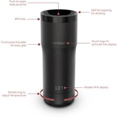 This smart connected mug keeps your drink warm all day, at the exact temperature you choose