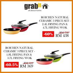 Roichen Frying Pan on Special Price ~ GRABit.my
