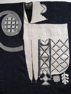 Man's Robe; Agbada Yoruba People, Nigeria First half 20th century Cotton and silk