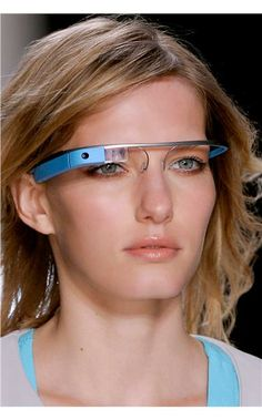Von Furstenberg Google glasses SS13