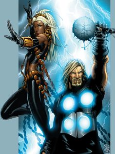 Storm and Thor