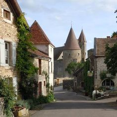 Chateauneuf En Auxois Burgundy France Photograph by Marilyn Dunlap . Beautiful World, Beautiful Places, Burgundy France, Chateauneuf Du Pape, France 2, French Countryside, France Travel, Amazing Architecture, Oh The Places You'll Go