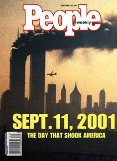 People Weekly Magazine Cover - September 11, 2001 (you were 15 months)