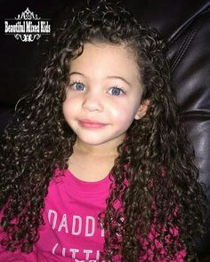 Za'Mya - 5 Years  African American & Caucasian ❤ FOLLOW @beautifulmixedkids on instagram WWW.STYLISHKIDSAPPAREL.COM