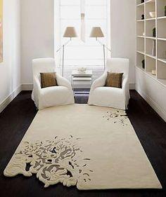 'Top Floor' Rugs by Esti Barnes Include Hand-Made Designs #homedecor trendhunter.com