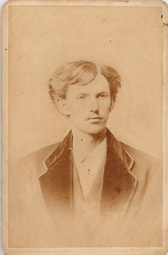 John Henry Doc Hollidays Dental School Graduation Photo Taken In 1872 When He Was 20 Years Old Holliday Earned A Degree Dentistry From The