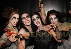 HALLOWEEN THEMED DANCERS TO HIRE -THE ZOMBIE DOLLS Zombie Halloween Makeup, Halloween Themes, Halloween Party, Terrifying Halloween, Halloween Entertaining, Zombie Dolls, Dance Routines, Poses For Photos, Party Guests