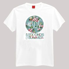 A pretty floral logo of your favorite band. Description: •5.3-ounce, 100% cotton (preshrunk) •Double-needle sleeves and hem •Taped neck and shoulders