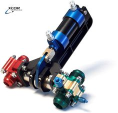 XCor Interlocked Fuel and Oxidizer Valves for Rocket Racer