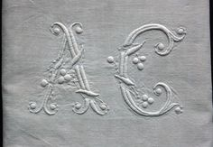 Monogram A C