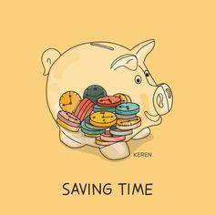 Funny Pun: Saving Time