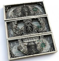 AMAZING cut currency pieces