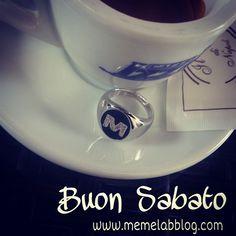 Buon Sabato con la Nuova Collezione Anelli iniziale www.memelabblog.com