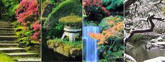 The Japanese Gardens in Portland, Oregon - gorgeous and a favorite destination of ours - rain or shine!