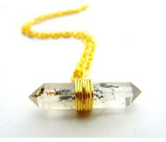 Tibetan Quartz Crystal Necklace