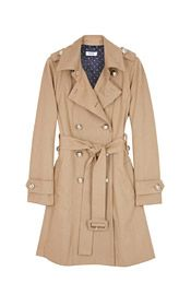 I want to find A trench coat just like this. Idk where to find it though. In white