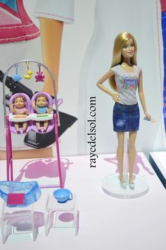 Barbie I Can Be 226 Baby Caregiver Doll Playset Free