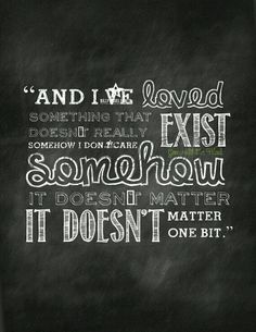 Loving something that doesn't exist- Gone with the wind quote