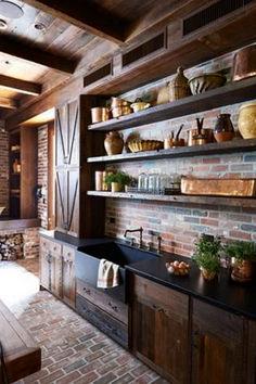 Awesome Barn Style Interior Design Idea (51)