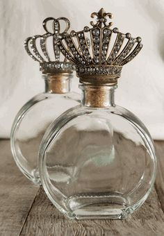 Regal Crown Top Bottles (Set of 2) Love this site. Its amazing and some of the prices are unbelievably inexpensive