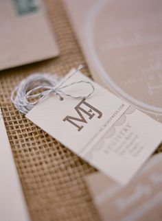 Business card idea: Let your business card double up as a gift tag