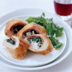 Chicken Stuffed with Prosciutto, Spinach and Boursin | Food & Wine