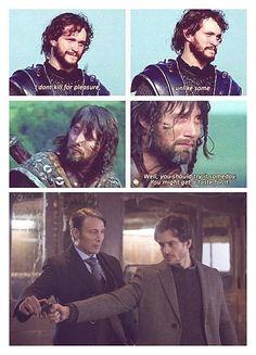 King Arthur - Hannibal LOVE this!!