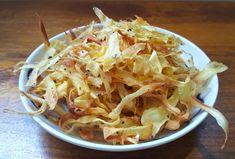 Healthy Vegan Parsnip Chips