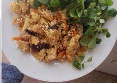 Csirkés zöldséges kuszkusz recept foto Hungarian Recipes, Hungarian Food, Fried Rice, Chicken Recipes, Grains, Healthy Recipes, Cooking, Ethnic Recipes, Quinoa