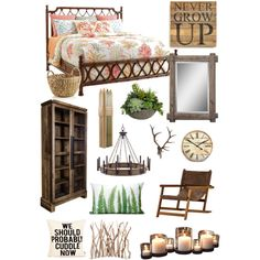 Tasha's room by kat13evers on Polyvore featuring polyvore, interior, interiors, interior design, home, home decor, interior decorating, Tommy Bahama, Second Nature By Hand, Danya B, Diane James and Crate and Barrel