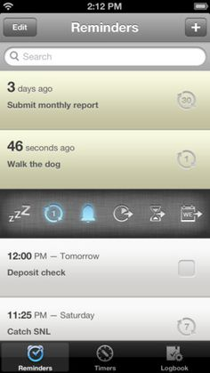Check EVERYTHING off your list with #DUE - the ultimate reminder and timer.