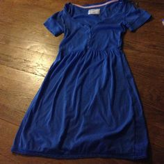Cute dress. Blue. Last markdown Very cute dress and great for back to school. BOGO 50% Good Friday only Aeropostale Dresses