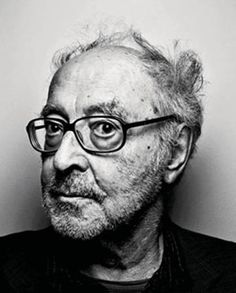 "Jean-Luc Godard (1930) - French-Swiss film director, screenwriter and film critic. He is often identified with the 1960s French film movement La Nouvelle Vague, or ""New Wave"""