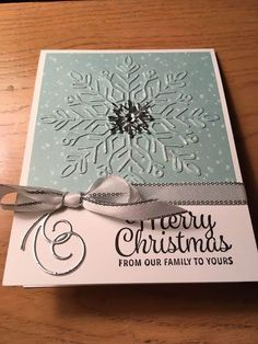 Check out the link to find out more Handmade Christmas Cards Christmas Cards 2018, Homemade Christmas Cards, Xmas Cards, Handmade Christmas, Homemade Cards, Holiday Cards, Embossed Christmas Cards, Cards Diy, Stampinup Christmas Cards