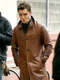 Ed Westwick, idk I like the accent and the attitude it takes to play Chuck Bass