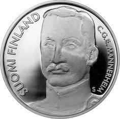 Carl Gustaf Emil Mannerheim BU The Republic, World War Ii, Finland, History, Money, Asylum, World War Two, Historia, Silver