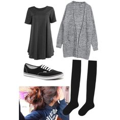 A fashion look from December 2014 featuring Uniqlo socks and Vans sneakers. Browse and shop related looks.