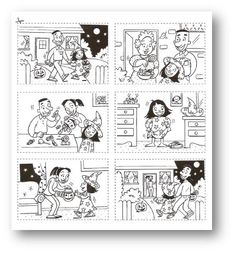 Images séquentielles sur Halloween Ready-made story boards Sequencing Cards, Sequencing Activities, Montessori Activities, Writing Activities, Sequencing Events, Theme Halloween, Halloween Stories, Halloween Activities, Holidays Halloween