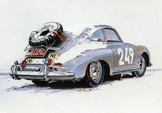 ...actually, good in snow...big understeer though..with the weight in rear.