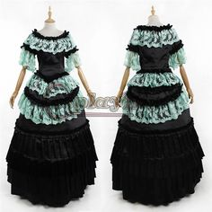 Find More Clothing Information about Custom Made Adult Medieval Costumes Blue and Black Victorian Ball Gowns D0118,High Quality gowns with long sleeves,China gowns for kids sale Suppliers, Cheap gown clearance from My Cosplay World on Aliexpress.com