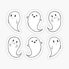 """"""" Stickers by Halloween Doodle, Halloween Drawings, Halloween Stickers, Cute Halloween, Halloween 2020, Halloween Halloween, Tumblr Stickers, Anime Stickers, Cute Stickers"""