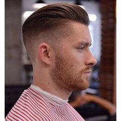 1 on the sides, undercut and slicked back on the top with @officiallayrite cement. #pomade #barber #barbering #barbershopconnect #anthonythebarber916 #seattlebarber #squirebarbershop #menshair #haircut #hairstyle #barbershop #internationalbarbers #traditional_barbers