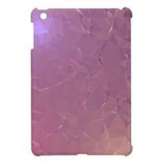 LoveGeo Abstract Geometric Design - Amethyst Mage iPad Mini Cases - elegant gifts gift ideas custom presents