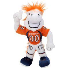 """Denver Broncos 9"""" Plush Mascot"""