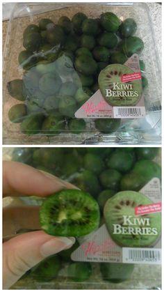 Kiwi berries?!