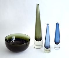 Timo Sarpaneva glass. Click on the image to see more mid century modern designs!