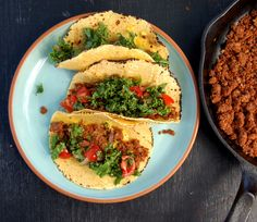 Let's Chill on the Superfoods + Walnut Lentil Soft Tacos