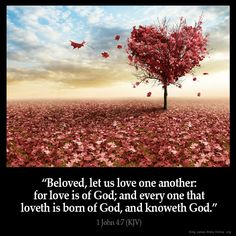 Kjv bible verses about love and relationships