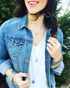 We love pairing Silver Lake with denim! What's your favorite necklace to pair with your denim jacket?